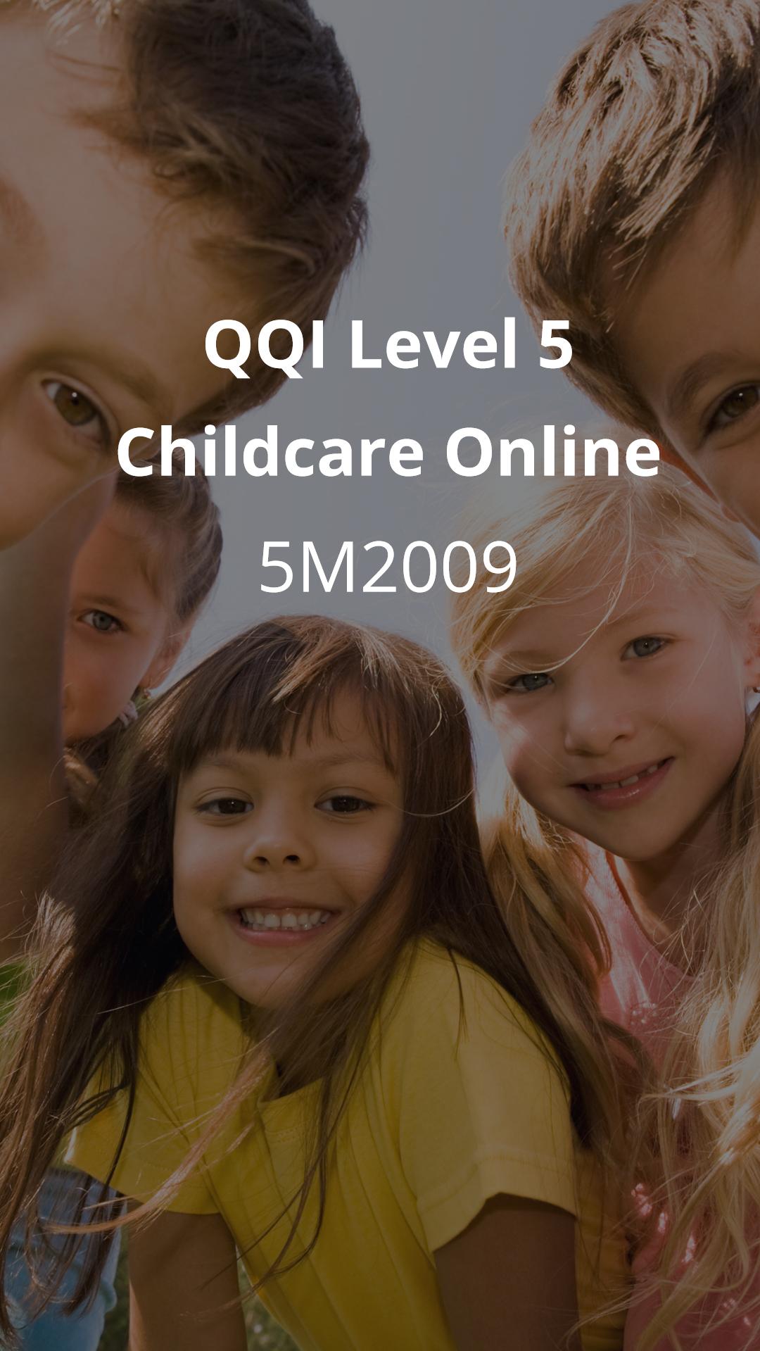 level 5 childcare