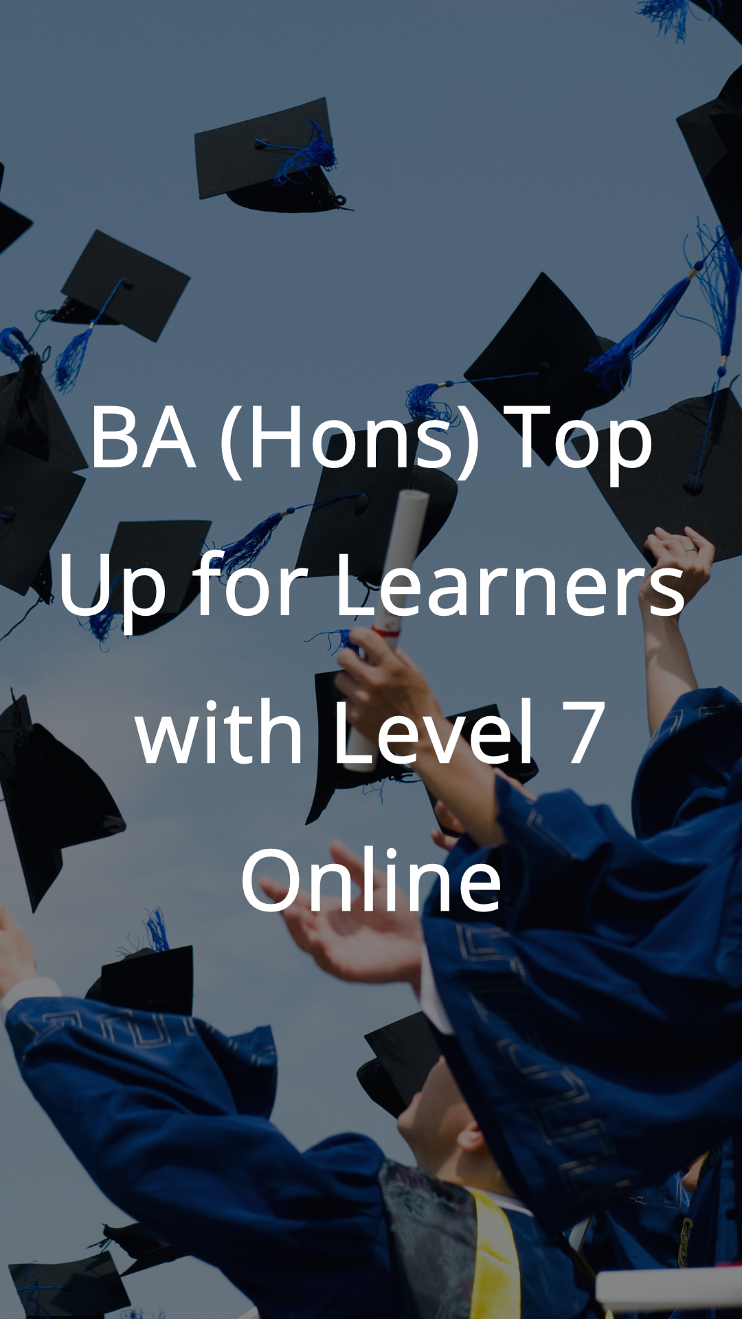 top up level 7 childcare