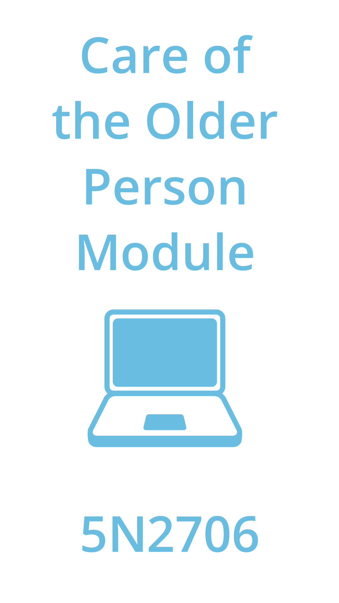 care of the older person module